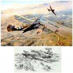 Fighting Tigers (AVG Folio Edition - 2 Prints)