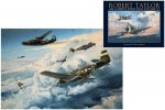 """Air Combat Paintings VI (USAAF Edition) & """"Where Eagles Gathered"""" Print"""