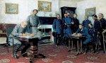 Surrender At Appomattox (CANVAS GICLÉE)