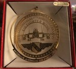 4th Fighter Wing Christmas Ornament - Wing