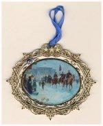 """Kuntsler 2006 Ornament """"Winter Riders"""""""