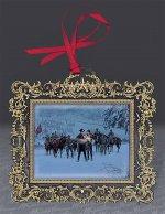 "Kuntsler 2002 Ornament ""Confederate Winter"""