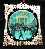 """Kuntsler 2004 Ornament """"After the Snow"""""""