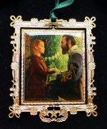 """Kuntsler 2005 Ornament """"Janie Corbin & Old Jack"""""""