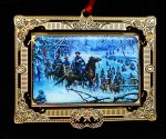 "Kuntsler 2008 Ornament ""Confederate Crossing"""